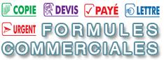 Formules Commerciales